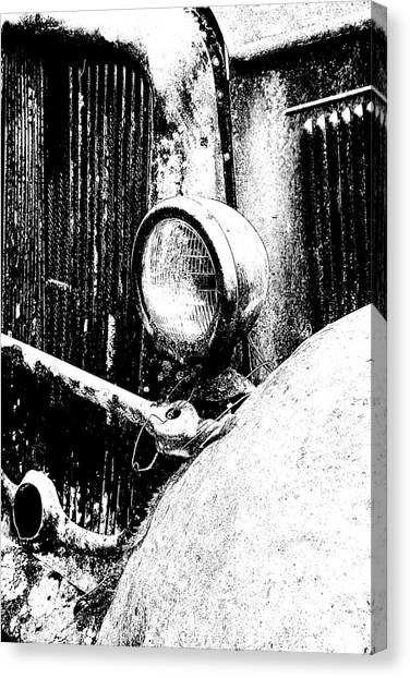 Old Dodge Canvas Print by Barry Shaffer