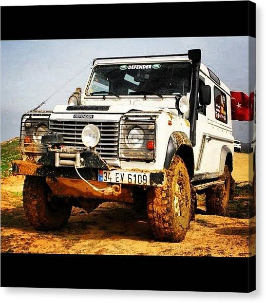 Offroading Canvas Print - Old Friend by Cem Koronel