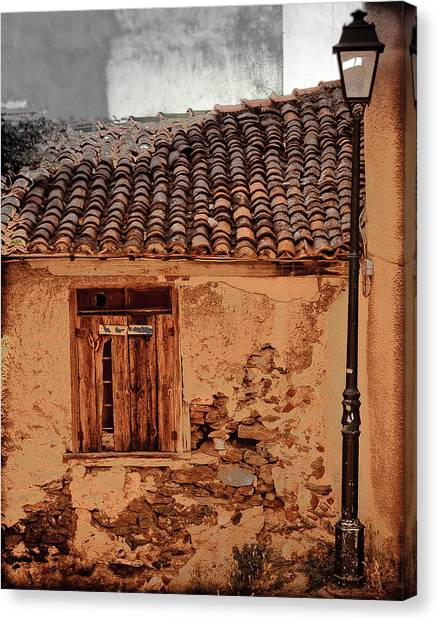 Thessaloniki, Greece - Old House Canvas Print