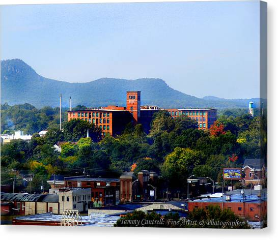 Old Loray Firestone Mill  Canvas Print by Tammy Cantrell