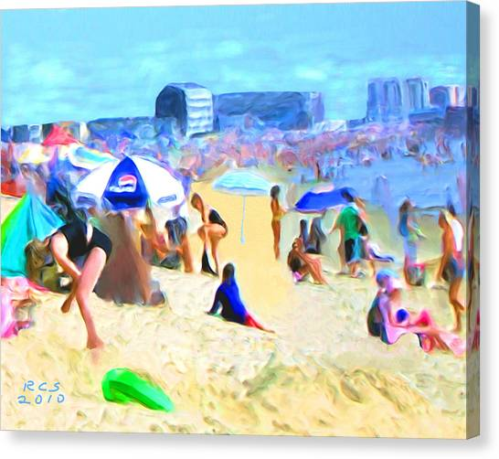 Old Orchard Beach Canvas Print