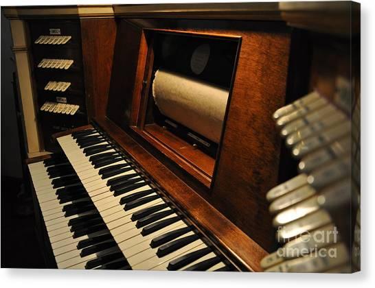 Old Organ  2 Canvas Print