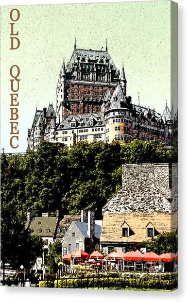 Old Quebec Canvas Print by Linda  Parker