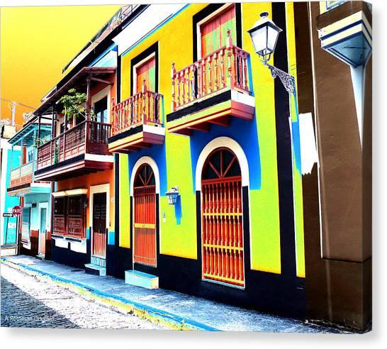 Old San Juan 10 Canvas Print