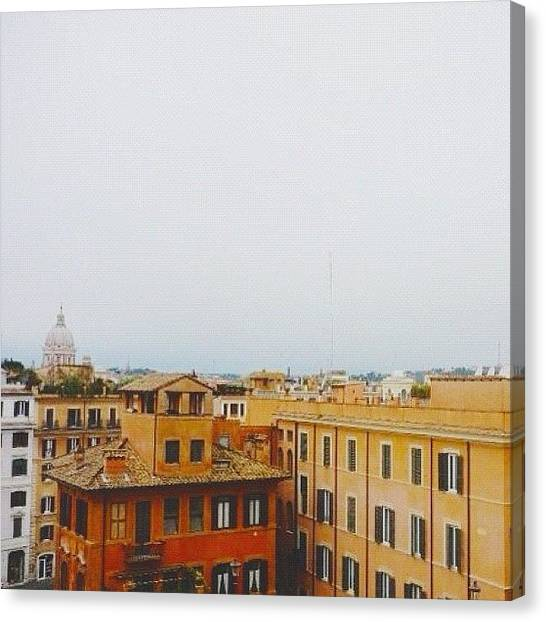 Turtles Canvas Print - Old Shot From My Trip To Rome A Few by Turtle Torres