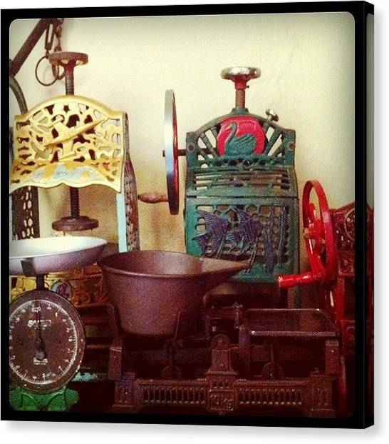 Asian Canvas Print - Old Technology by Michael Ong