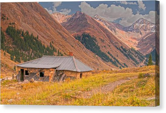 Old Tomboy Village Canvas Print
