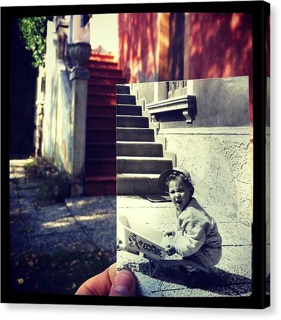 Australian Canvas Print - #oldpic #house #iphone4 by Sydney Australia