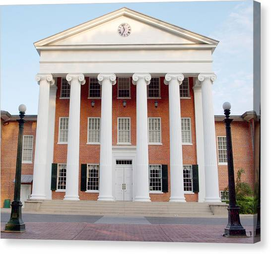 University Of Mississippi Ole Miss Canvas Print - Ole Miss Lyceum One by Joshua House