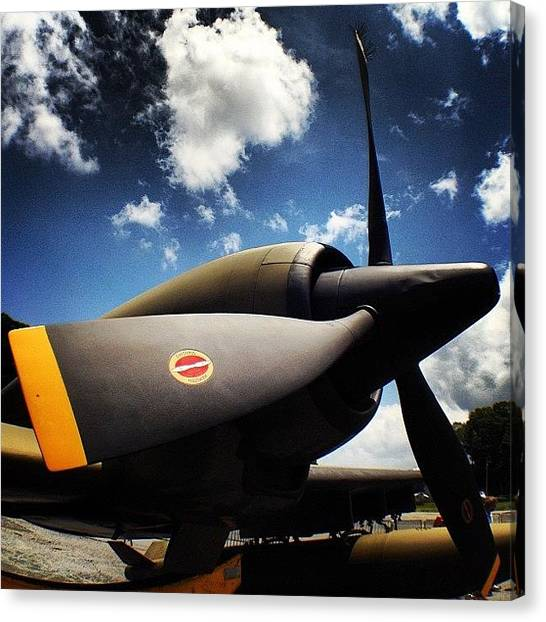 Jets Canvas Print - #olloclip #wideangle by Samantha J