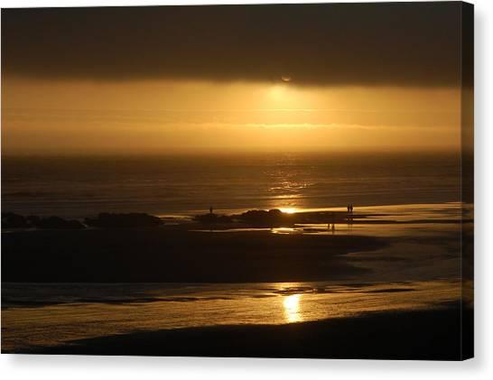 Olympic Sunset Canvas Print