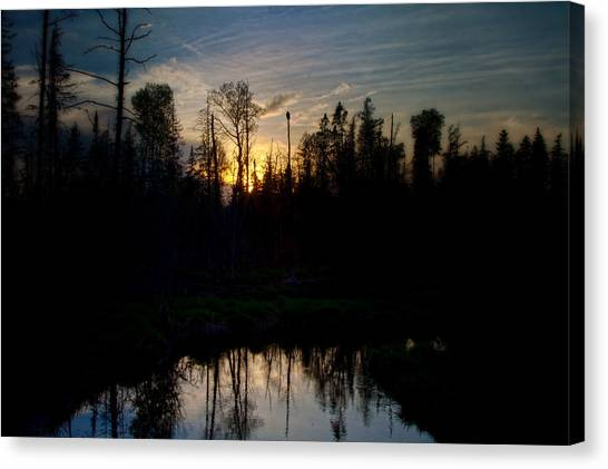 On A Summers Night Canvas Print by Gary Smith