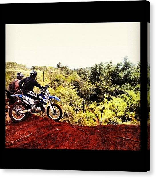 Yamaha Canvas Print - On Any Sunday by Devin Parado