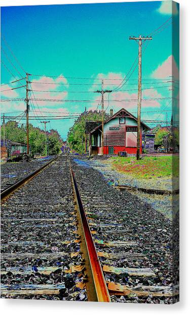 On One Odd Day. Canvas Print