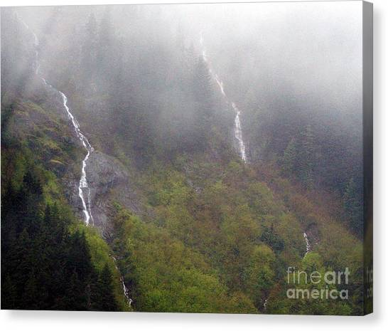 On Snoqualmi Pass Canvas Print by Erica Hanel