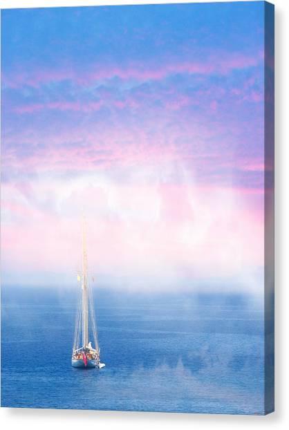 On The Sea Of Marmara Canvas Print