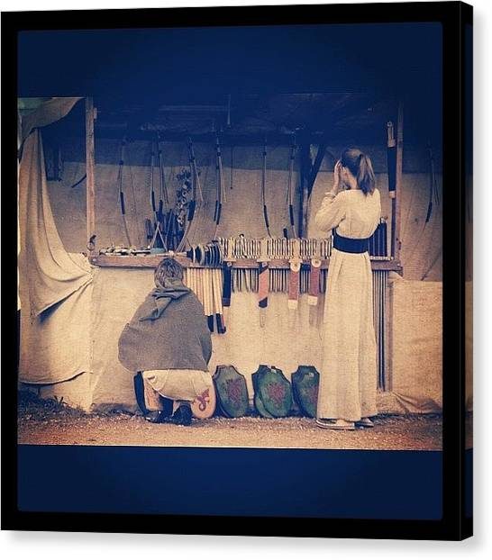 Medieval Canvas Print - Once Upon A Time In Gotland #travel by Deni M