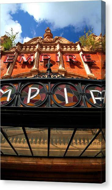 Once Was An Empire Canvas Print by Jez C Self