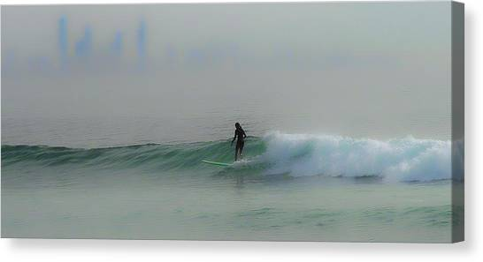 One Misty Morning 2 Canvas Print
