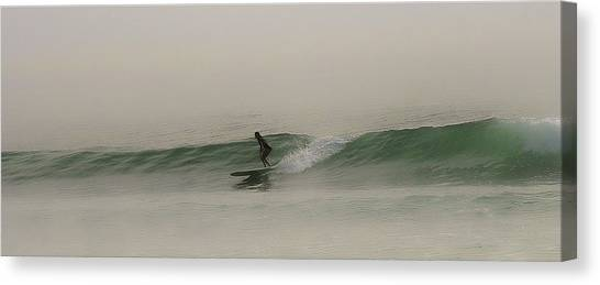 One Misty Morning Canvas Print