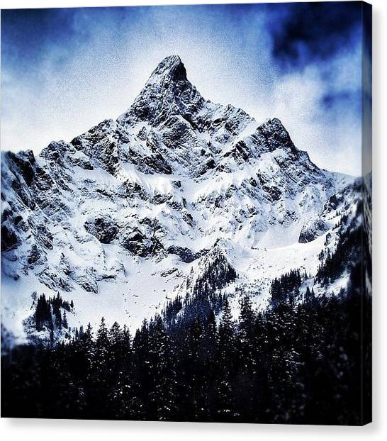 Swiss Canvas Print - One More Throwback From Switzerland! by Loghan Call