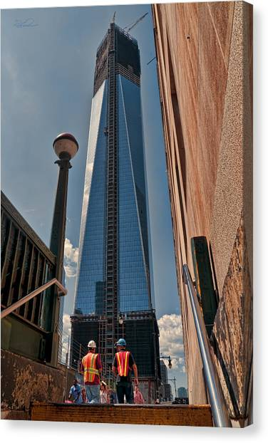 One Wtc First Look Canvas Print