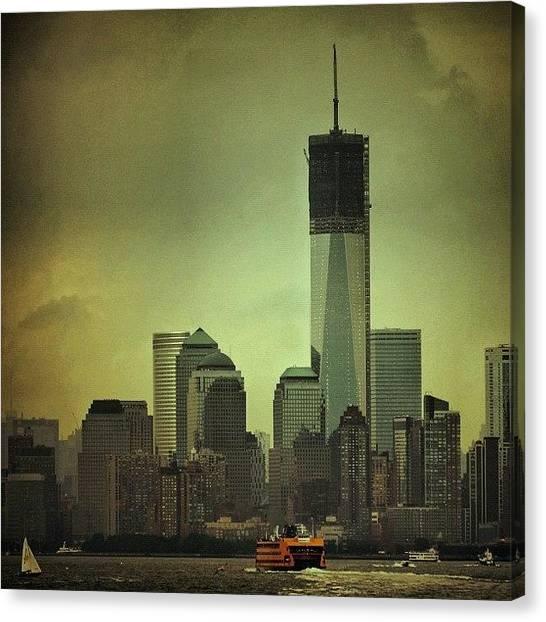 Nyc Skyline Canvas Print - One Wtc Tower - New York by Joel Lopez