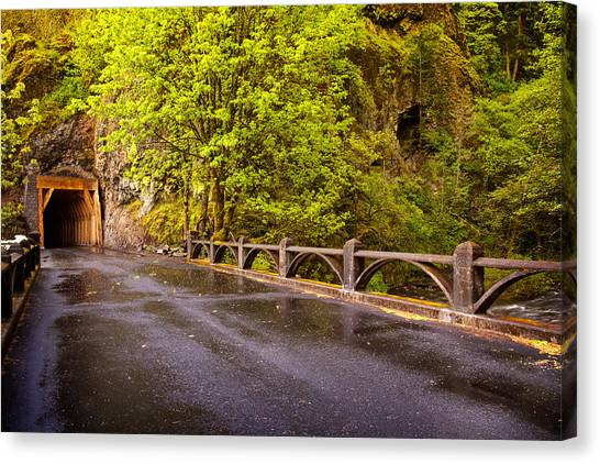 Oneonta Tunnel Canvas Print