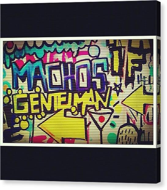Pop Art Canvas Print - Only Boyz! 💪👬✌ #boyz #macho by Dvon Medrano