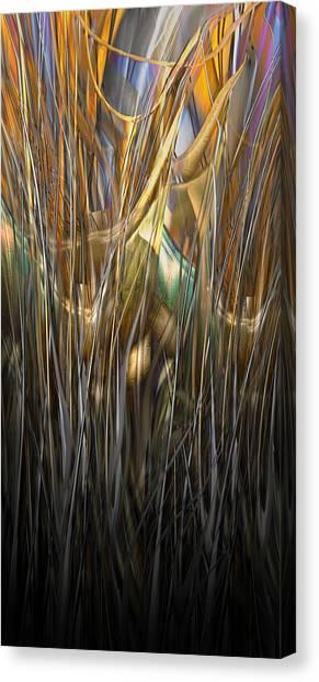 Onyx Growth II Canvas Print
