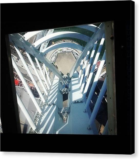 Vertigo Canvas Print - O_o #portsmouth #wow #vertigo #scared by Ollie Barton
