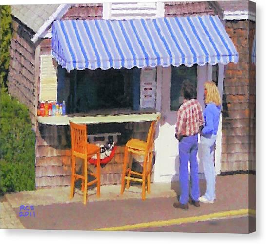 Open Invitation Canvas Print