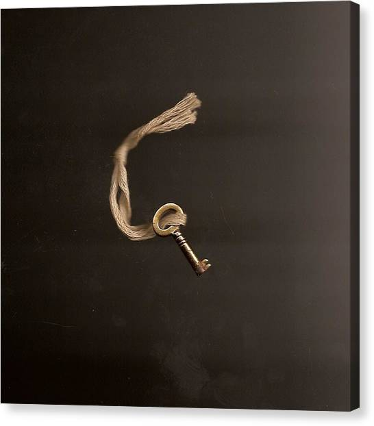 Open Or Lock Canvas Print