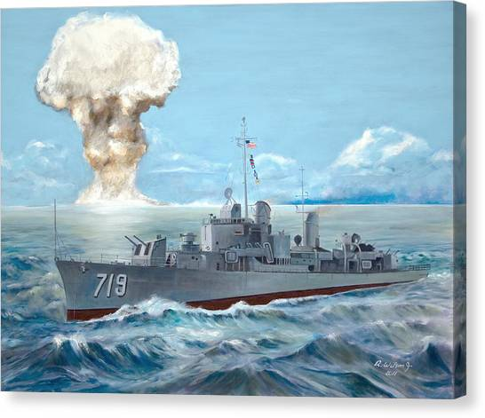 Operation Castle Canvas Print