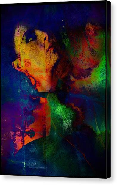 Canvas Print - Ophelia In Neon by Adam Kissel
