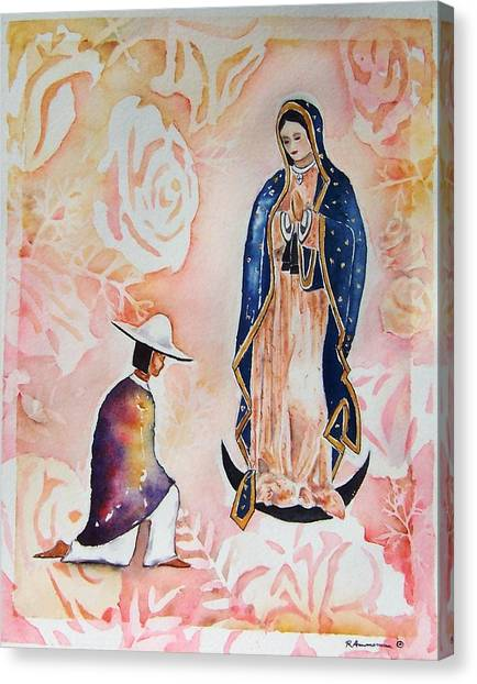 Ora Pro Nobis Canvas Print by Regina Ammerman