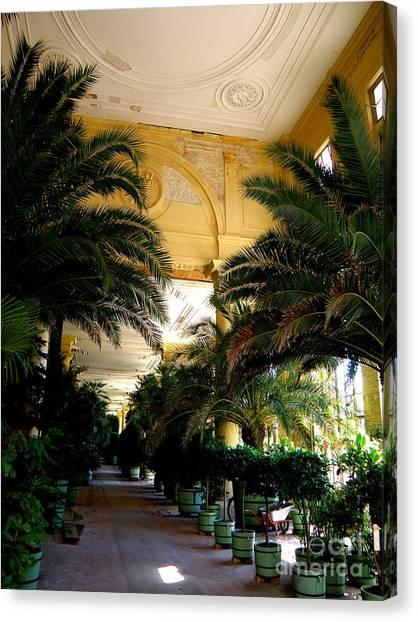 Orangerie Sanssouci Canvas Print by Tanya  Searcy