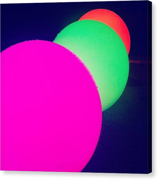 Limes Canvas Print - Orbs by Cassie OToole