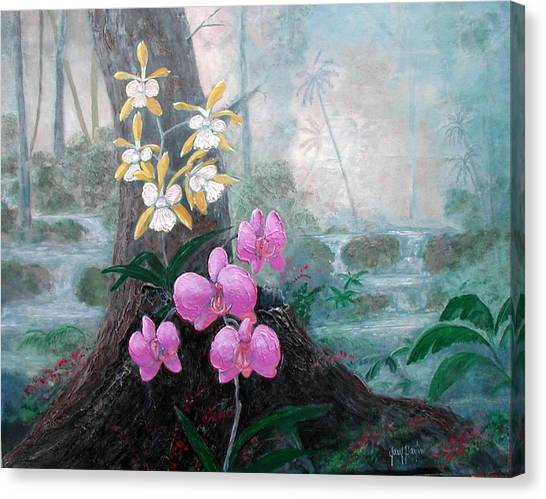 Orchid Wilderness Canvas Print