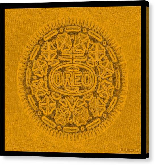 Nabisco Canvas Print - Oreo In Orange by Rob Hans