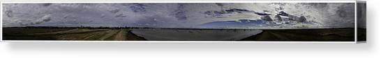 Degrees Canvas Print - Orford 360 With Border by Nigel Jones