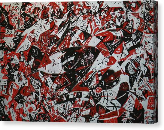 Organized Chaos Canvas Print by Tyler Schmeling