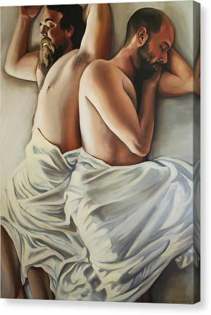 Origin Of Love 1 Canvas Print by Emily Jones