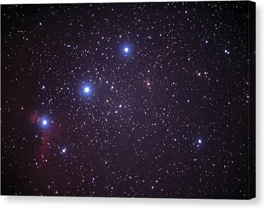 Delta Zeta Canvas Print - Orion's Belt by John Sanford