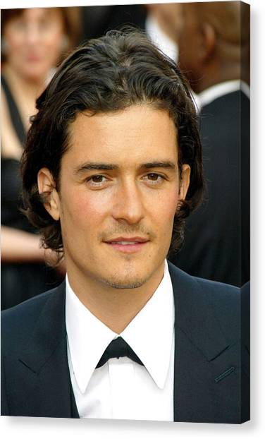 Orlando Bloom Canvas Print - Orlando Bloom At Arrivals For 77th by Everett