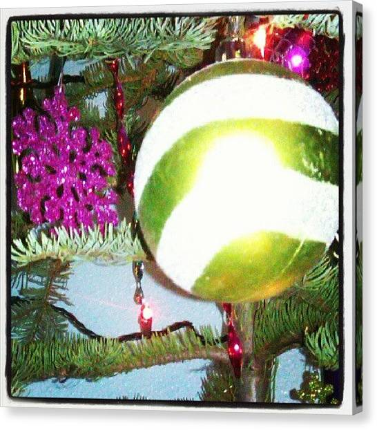 Peaches Canvas Print - #ornaments #christmas #christmastree by Sierra  Christopher