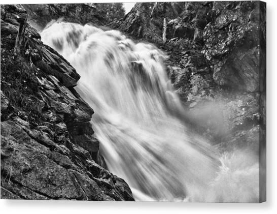 Osterbro Falls Canvas Print