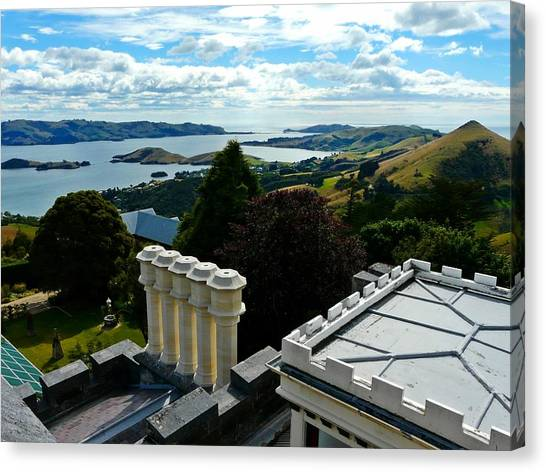 Otago From Larnach Castle Canvas Print