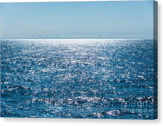 Out To Sea Canvas Print by Christina Klausen