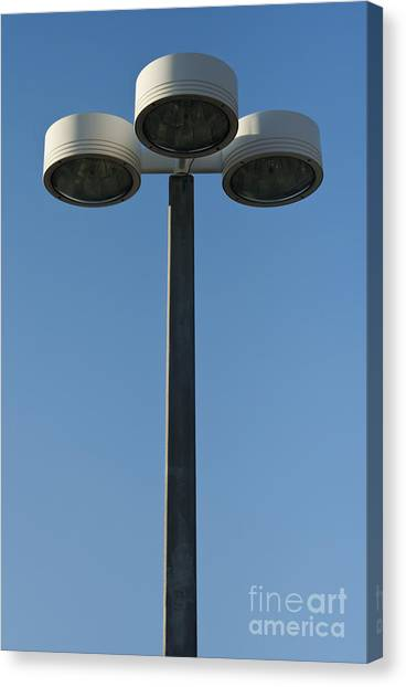 Outdoor Lamp Post Canvas Print by Blink Images